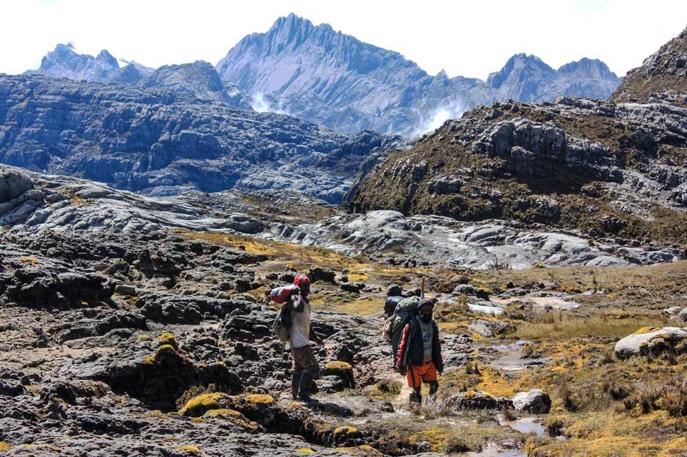 rocks mountain back ground porters