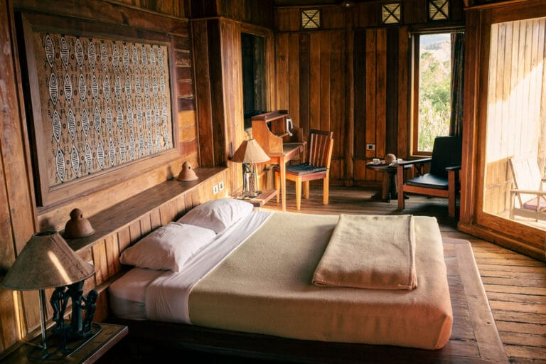 Double room at The Baliem Valley Resort