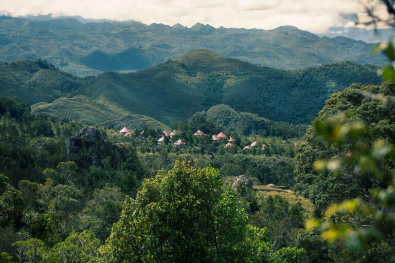 Surrounding nature of The Baliem Valley Resort